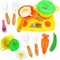 13pcs/Set Play Kitchen Toys Cocina Juguete Classic Fruit And Vegetables Toy Kitchen Set Children Pretend Play Plastic Food Toys