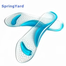 Buy Gel 3/4 Lady High Heels and Sandals Arch Support Insoles Cushion Metatarsal Orthopedic Shoe Insole Pad for Shoes Woman directly from merchant!