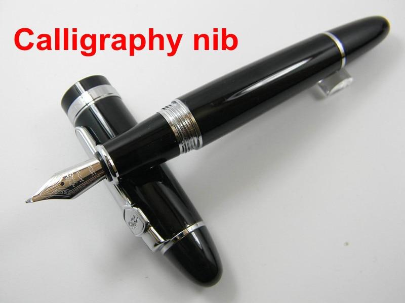 Jinhao 159 Black Calligraphy Nib Fountain Pen In Fountain