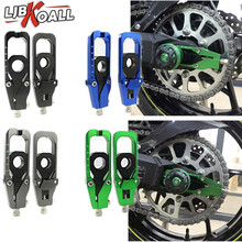 New Motorcycle Accessories Chain Adjusters Tensioners Adjust Lightech Tensioner Catena with Spool For 2017-2018 Kawasaki Z900