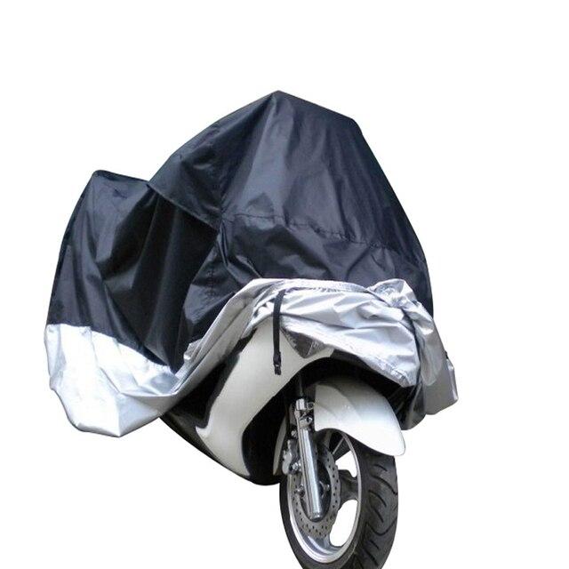 Крышка мотоцикл Мопед Скутер Обложка Водонепроницаемый Дождь УФ Предотвращение Пыли Покрытия Аксессуары Мотоцикл защиты