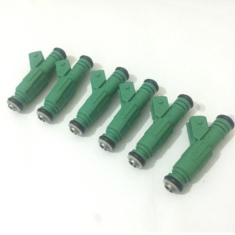 Наборы для ухода за кожей 6 Совершенно новый зеленый Топливная форсунка для v6 Holden Commodore Государственный VT VX VY V6 0280 155 777 0280155777 92140536