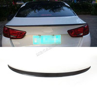 Carbon Fiber Rear Trunk Boot Spoiler Wing Lip For KIA K5 Optima 2014 2015 Facelift Black Auto Car Rear Wings Car Styling|car rear wing|spoiler wing|rear wing -