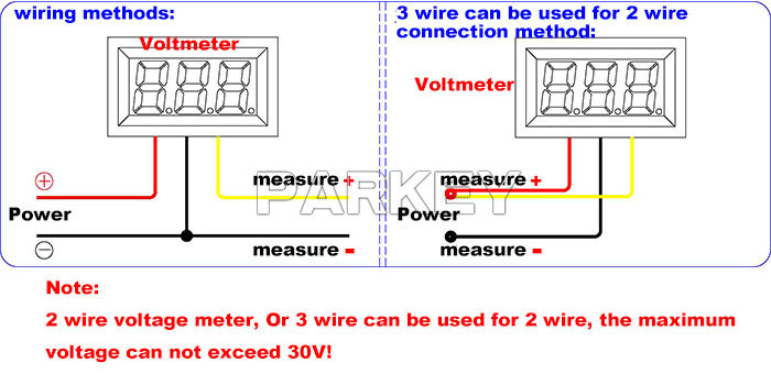 Terrific Led Wiring Diagram Of Voltmeter Basic Electronics Wiring Diagram Wiring 101 Capemaxxcnl