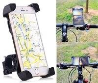 מחזיק טלפון אופני, 360 תואר אוניברסלי אופנוע מכשירי GPS מחזיק אופני אופניים כידון הר עבור טלפון חכם