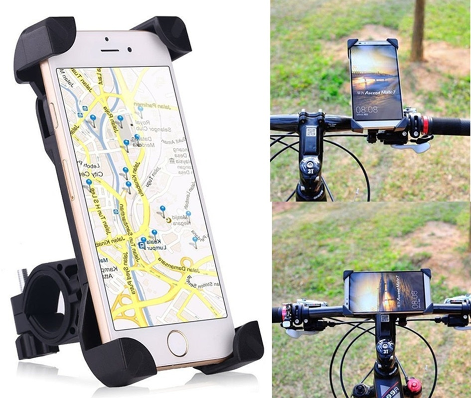 Bike Phone Holder 360 Degree Universal Motorcycle Bike Bicycle Handlebar Mount Holder For Smartphone GPS Devices|Phone Holders & Stands|Cellphones & Telecommunications - title=