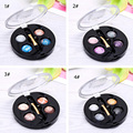 Portable Eyeshadow Kits 4 Colors Eyeshadow 3pcs/lot For Sale