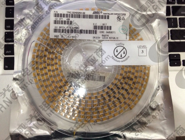 TPME156M050R0100 AVX Multi Anode Tantalum Capacitors 15UF