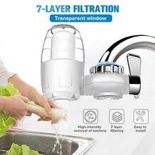 7 camada purificador de água da torneira da cozinha limpa montagem lavável cerâmico percolador filtro água filtração oxidação bactérias remoção