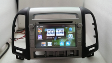 7 «автомобильный Радиоприемник 2 Din Dvd-плеер Автомобиля Gps-навигация в Тире Автомобиля PC Стерео Головное устройство для HYUNDAI SANTA FE 2006-2012 Car Audio Player