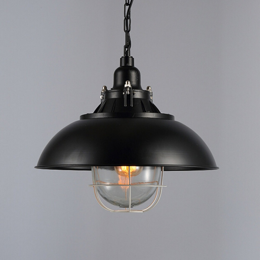 Loft Retro Hanging Lamp Industrial Minimalist Iron Pendant Light Bar Cafe Restaurant Warehouse E27 Lamp Holder Vintage Lights talent designer loft retro bar restaurant bar iron warehouse european simple industrial control creative pendant light