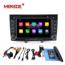 capacitive screen 2din in dash Car DVD Stereo Navigation for Peugeot 408 & 308 with GPS RDS IPOD SWC Free 8GB Map card+shipping