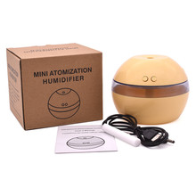 200ml Air Aroma Essential Oil Diffuser LED Incense Holder Humidifier