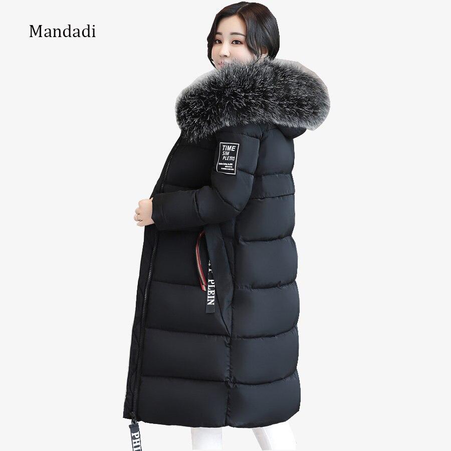 2017 winter jacket women plus size 6XL Women Winter Coat Jacket Warm Woman Parkas Female Overcoat