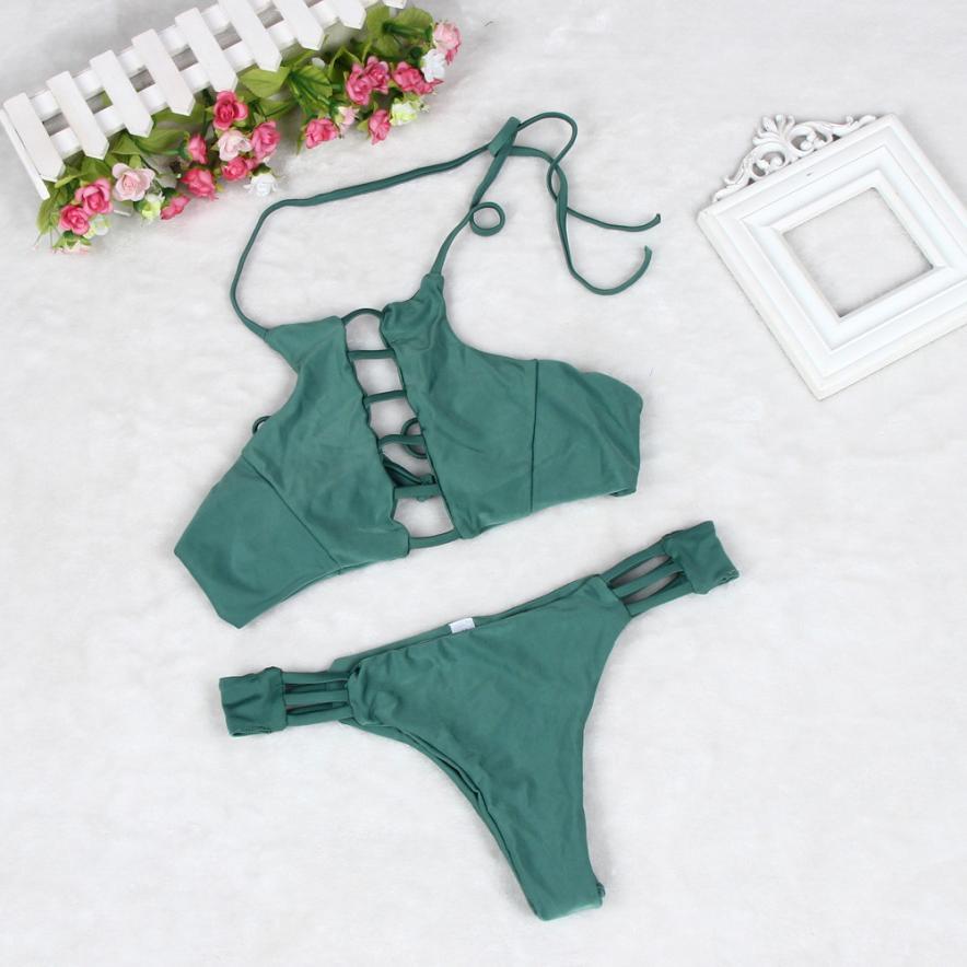 Wholesale Newest Bikini 1 Set Womens Sexy Push-up Beautiful Curve Swimsuit Gorgeous Swimwear Brazilian Bathing Suit Swimwears