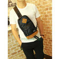 Unisex Polyester Travel Riding Motorcycle Cross Body Messenger Shoulder Sling Chest Bag