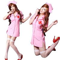 2017 Hot Sexy Nurse Costume Erotic Costumes Role Play Women Erotic Lingerie Female Sexy Underwear Red