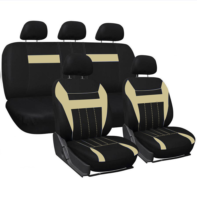 WESHEU New Arrival 2018 Car Seat Covers Full Set Automobile Seat Protection Cover Vehicle Seat Covers Universal Car Accessories