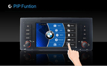 Car DVD Radio Stereo video GPS Sat Navigation Bluetooth IPOD For BMW E39 E53 ADELC MD-1289W