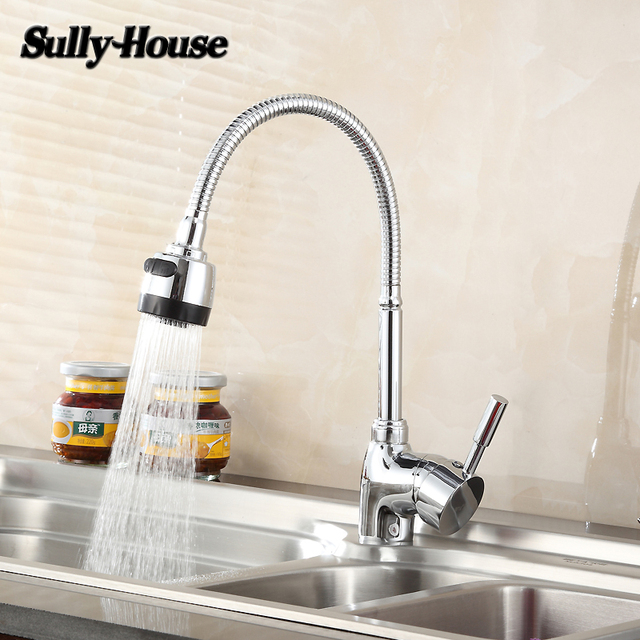 Sully House High quality Brass Kitchen Sink Faucet Faucets ...