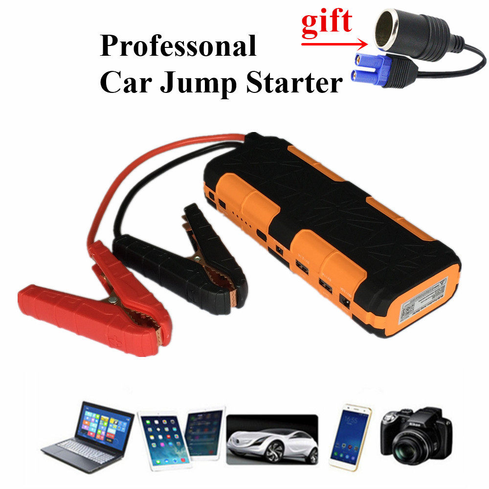 High Capacity 20000mAh Car Jump Starter Portable 800A Starting Device Petrol Diesel Car Charger For Car Battery Booster Buster high capacity car jump starter mini portable emergency battery charger for petrol