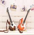 Guitarra de juguete del instrumento musical del niño estilo de aprendizaje para Principiantes de la guitarra eléctrica guitarra 1 unids