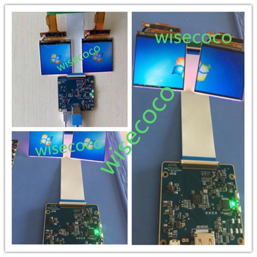 HDMI to MIPI Board 2K LCD 2.9 inch 1440*1440 Display 2K LCM dural screen 40 pins for VR  ...