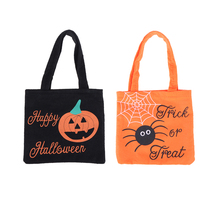 halloween non woven candy handbag ghost festival child gift sweet packaging bags prop bag hallowmas - Halloween Handbag