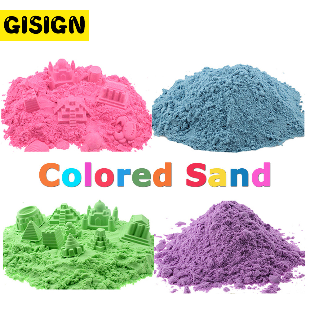 300g/Bag Magic Sand Toys Super Colored Dynamic Sand Indoor Arena Play Sand Educational Clay Kids Toys for Children small strain dynamic properties modeling for cemented sand