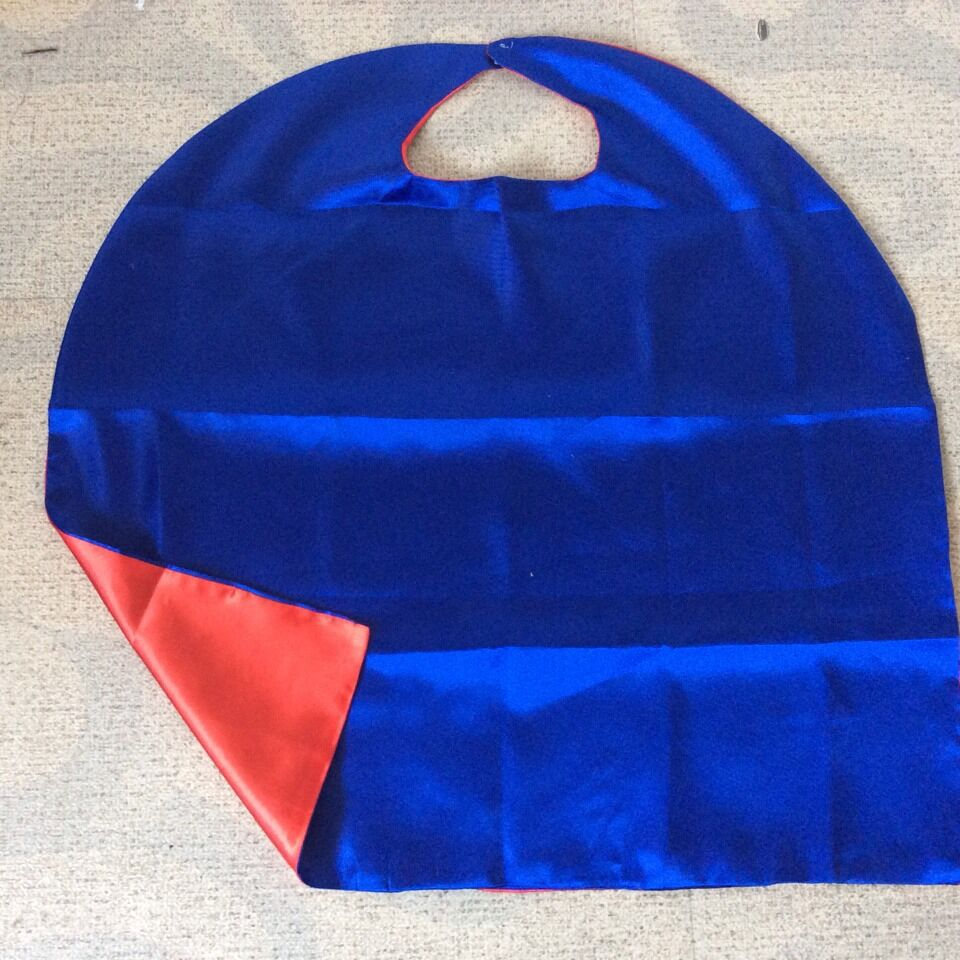 US $250 0 |cheap red royal blue Kids Cape Birthday gift boys girls coat  Custom Superhero Party Cape halloween cape-in Trench from Mother & Kids on