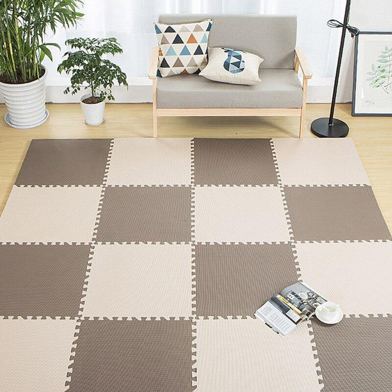 Baby Play Mat EVA Foam Childrens Rug Interlocking Exercise Crawl Tiles Floor Puzzle Carpet For Kids Each 30x30cm Dropshipping