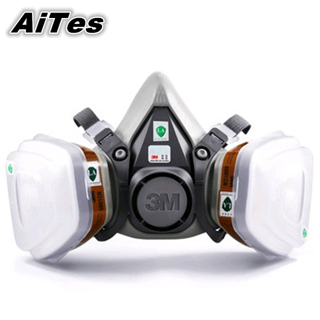 Replaceable buckle design N95 filter fire safety mask Chemical Respirator