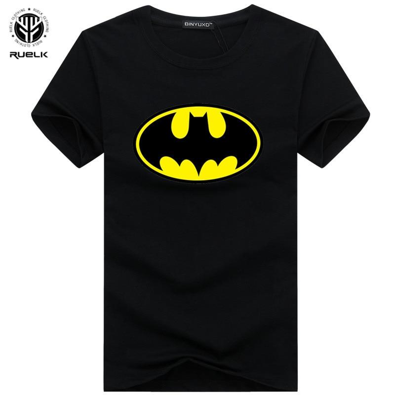 New Arrive Fashion Cartoon Batman   T     Shirts   Men O Neck Short Sleeve Men tshirt Tops Drop Shipping Summer Fashion Brand Tee   Shirt