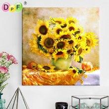 diamond Sunflower painting Embroidery