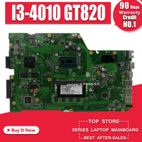 X751LD Scheda Madre I3-4010 GT820 Per For Asus X751L K751L K751LN Scheda Madre del computer portatile X751LD Mainboard X751LD Scheda Madre di prova di 100% ok