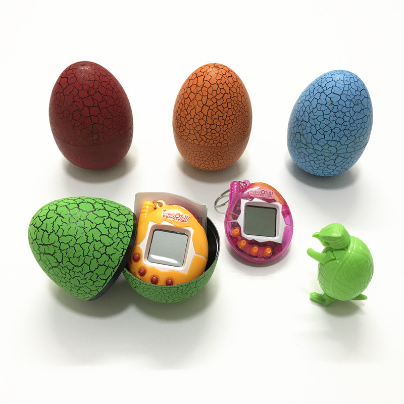 Multifunctional Tamagochi Multi-colors Dinosaur egg interactive toys 5 Colors Electronic E-Pet Funny Toy  for children Gift