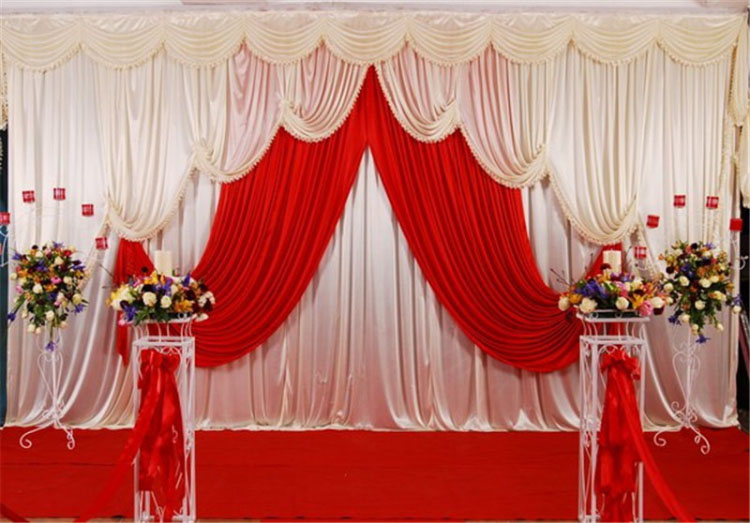 Compare prices on marriage stage decoration online for Background curtain decoration