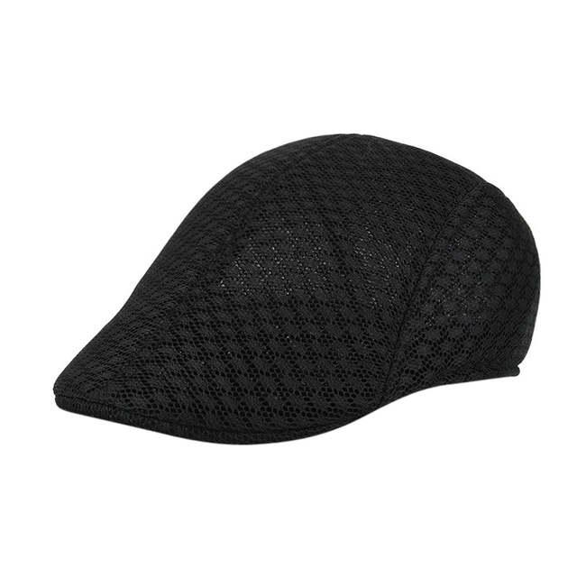fdd45decb55 placeholder NewCreative More Funny Men Breathable Mesh Newsboy Hats Casual  Beret Caps mens hats vintage boina masculina