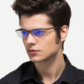 Aluminum Magnesium Anti Blue Laser Fatigue Radiation-resistant Men's Optical Eyeglasses Glasses Frame Oculos de grau Eyewear 130