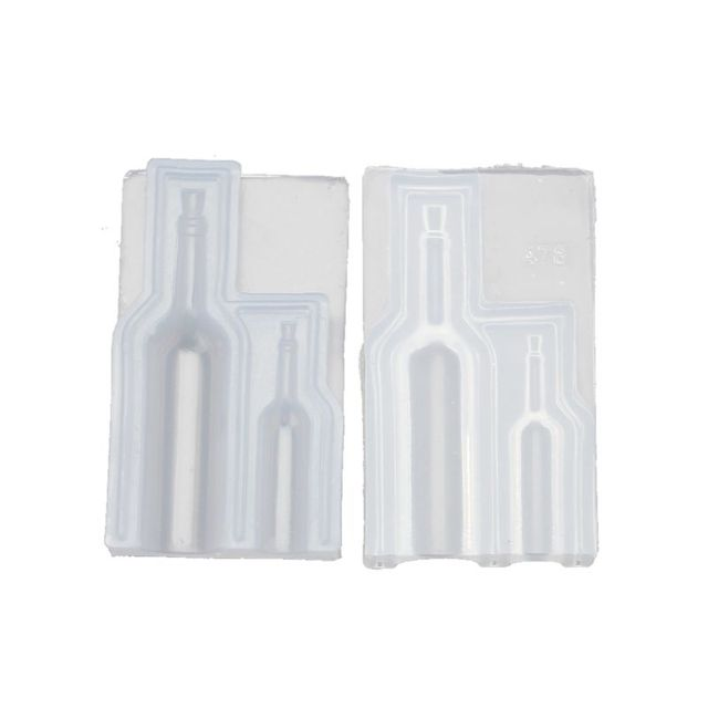 DIY Small 3D Wine Glass Bottle Silicone Resin Mold Resin Casting Art Craft Tools