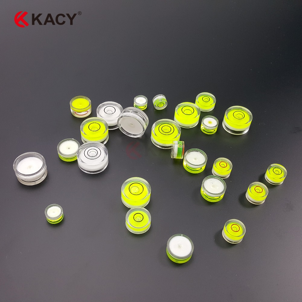 KACY 10pcs/lot 12x7mm Round Hand Tool Parts of Plastic Bubble ... for Spirit Level Parts  17lplyp