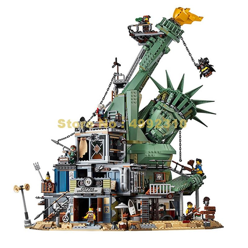 sy1276 movie 3178pcs welcome to apocalypseburg 13+ figures building blocks 70840 Bricks Toy