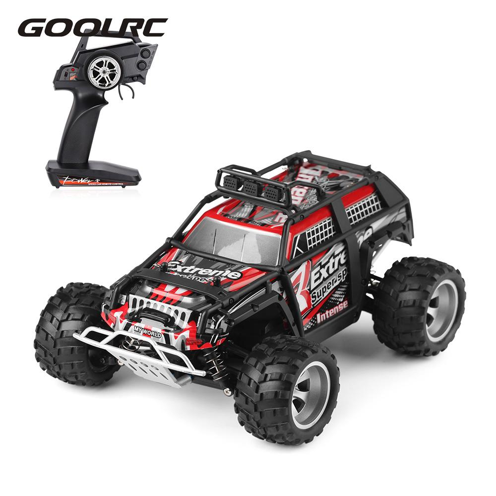 GoolRC 18401 2.4GHz 4WD 1/18 RC Car SUV 25km/h Brushed Electric RTR Off-road Buggy Remote Control RC Vehicle Cars Toys for child huanqi 739 high speed rc cars 1 10 scale 2 4g 2wd 42km h rechargeable remote control short truck off road car rtr vehicle toy