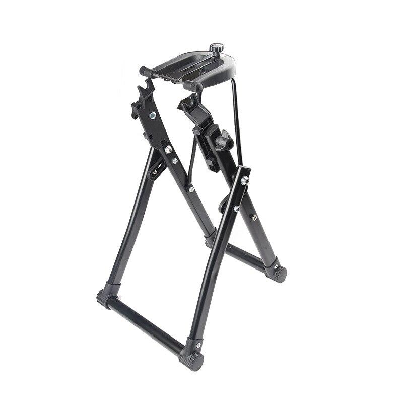 Outil de réparation de vélo roue de vélo Truing Stand mécanicien d'entretien à la maison Truing Stand Support vélo outil de réparation 36x28x48 cm