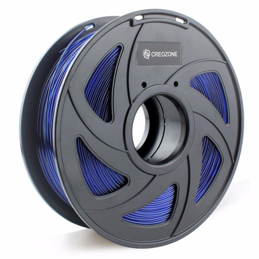 CREOZONE Premium 3D Printer Filament 1.75 1KG PETG ABS