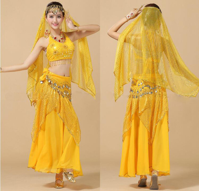 Belly Dance Costumes Bollywood Costume Indian Dress Bellydance Dress For  Women Dance Set