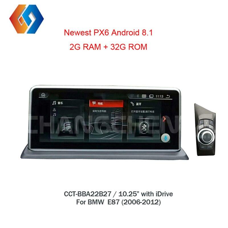 10,25 Android 8 автомобилей Сенсорный экран для BMW 1 серии E87 gps мультимедиа Авто Радио Bluetooth, Wi Fi рулевое колесо Управление стерео 27