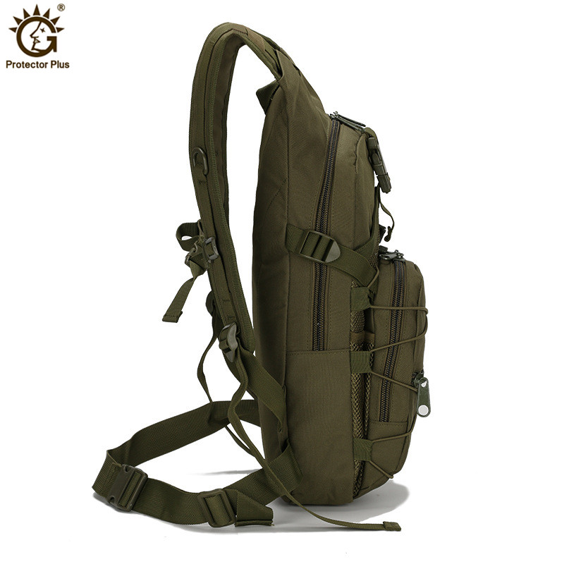 15L Tactical Backpack 800D Oxford Molle Military Hiking Bicycle Backpacks  Outdoor Sports Cycling Climbing Camping Bag Army