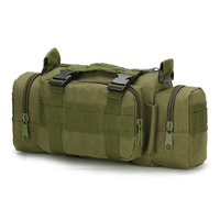 Men Women Waterproof Oxford Climbing Bag Outdoor Military Tactical Waist Pack Molle Camping Hiking Pouch Bag 10 Colors