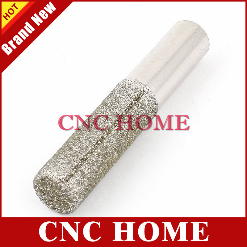 1pc Straight Diamond Vacuum Brazing Brazed Router Finger Bit Grinding For Marble Granite Knife Brazed Diamond Router Bits Cutter Making Things Convenient For Customers Tools